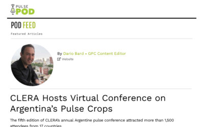 CLERA Hosts Virtual Conference on Argentina´s Pulse Crops