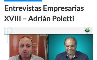Entrevistas Empresarias XVIII – Adrián Poletti
