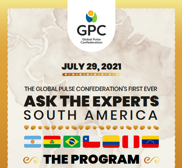 THE GLOBAL PULSE CONFEDERATION'S FIRST EVER  ASK THE EXPERTS SOUTH AMERICA